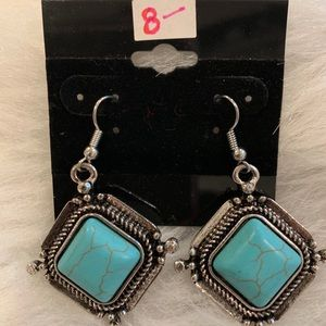 Turquoise like Earrings